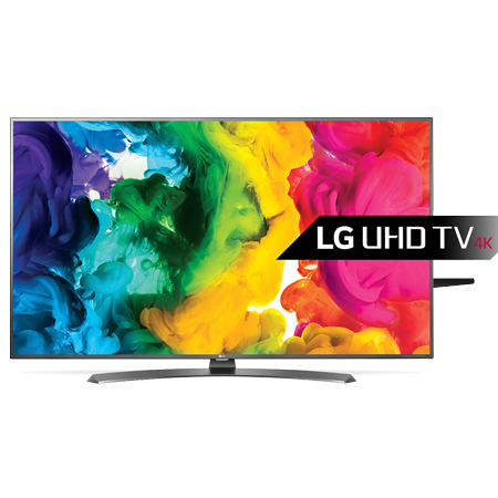 LG 49UH661V, 49 Smart UHD 4K HDR Pro LED TV  ULTRA Luminance - with Freeview HD and Built-in Wi-Fi - in Dark Gun Metal.Ex-Display