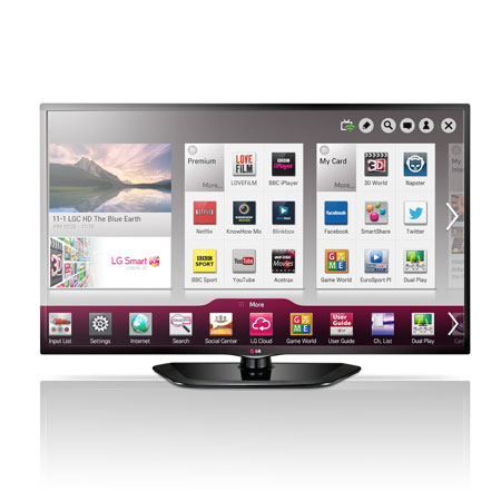 LG 50LN570V, 50 Full HD Smart LED TV with Freeview HD and Wi-Fi Ready