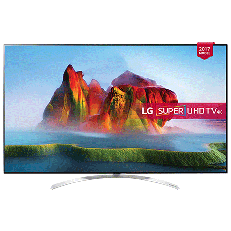 LG 55SJ950V, 55 Smart Super Ultra HD 4K LED TV with webOS 3.5, Freeview HD and Freesat HD & Built-In Wi-Fi
