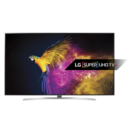 LG 86UH955V, 86 4K UHD SMART Digital HD (Freeview) T2 LED TV with IPS 4K Quantum Display & Freesat