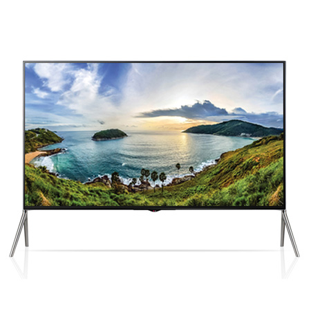 LG 98UB980V, 98 Ultra HD 4K Smart 3D TV with Freeview HD, Built-in Wi-Fi. & webOS
