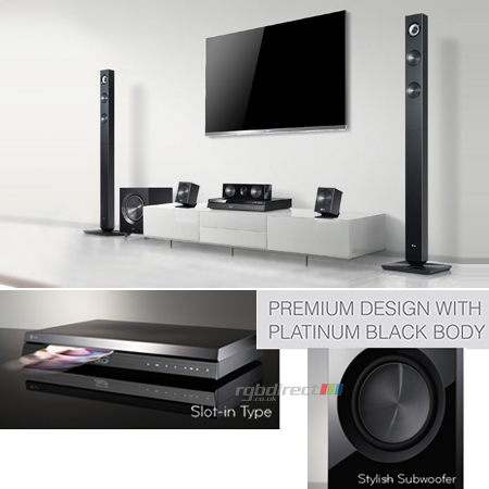 Bh7420p 5 1ch smart 3d blu ray home cinema system with built in wifi