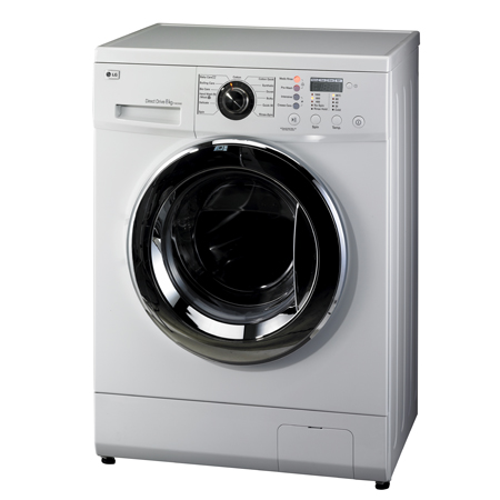 Lg f1222td 8kg direct drive washing machine for Lg washing machine motor price