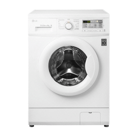 LG F12B8NDA, 6kg Washing Machine with 1200rpm Spin