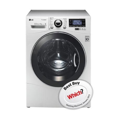 LG F1495BDSA, 12kg  Direct Drive Washing Machine