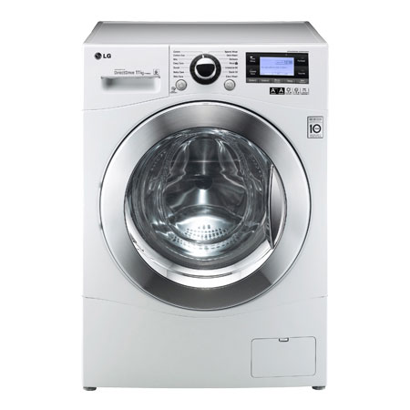 LG F1495KD, 11kg 6 Motion Direct Drive Washing Machine.