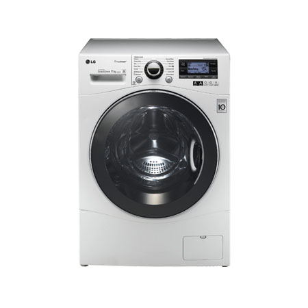 LG F1495KDS, 11kg Steam Direct Drive Washing Machine