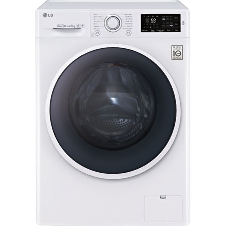 LG F14U2TDNO, 8kg Direct Drive Washing Machine 1400rpm Spin Speed & A+++ Energy Rating