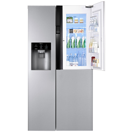 LG GS9366AEAV, American Style Side By Side Fridge Freezer with Plumbed Water & Ice Dispenser.
