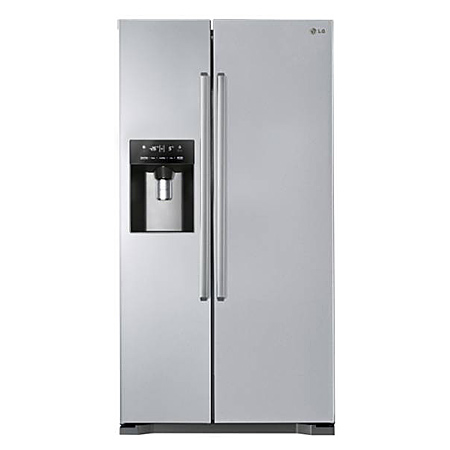 LG GSL325PZYVD, American Style Side By Side Frost Free Fridge Freezer with A+ Energy Rating - Stainless Steel.Ex-Display