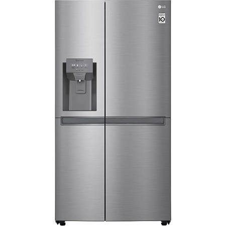 LG GSL480PZXV, US Style Side by Side Fridge Freezer Ice. Plumbed Water & Ice Dispenser