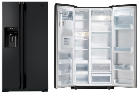 LG GWL227HBQA, Side By Side Fridge Freezer Combination
