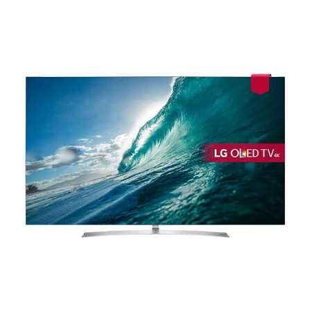LG OLED55B, 55 inch Smart Ultra HD 4K OLED TV with webOS 3.5, Freeview HD and Freesat HD & Built-In Wi-Fi.
