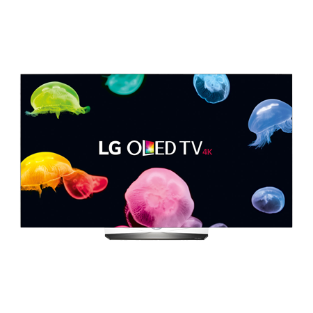 LG OLED65B6V, 65 Smart UHD 4K OLED HDR TV with webOS3 - Black & Freesat