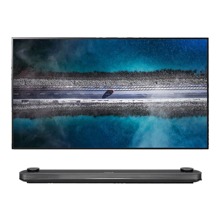 LG OLED65W9PLA, 65 inch Ultra HD 4K OLED TV Black with Freeview