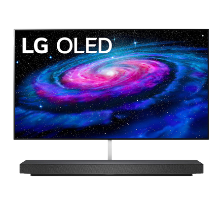 LG OLED65WX9LA, 65 inch 4K Ultra HD OLED TV with Freeview