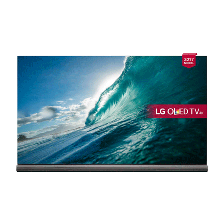 LG OLED77G7V, 77 Smart Ultra HD 4K Signature OLED TV with webOS 3.5, Freeview HD and Freesat HD, Built-In Wi-Fi & Soundbar Stand
