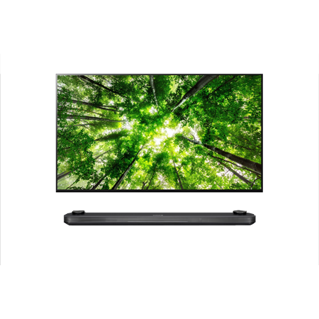 LG OLED77W8PLA, 77 inch Signature Smart OLED Ultra HD 4K TV with webOS & Freeview HD