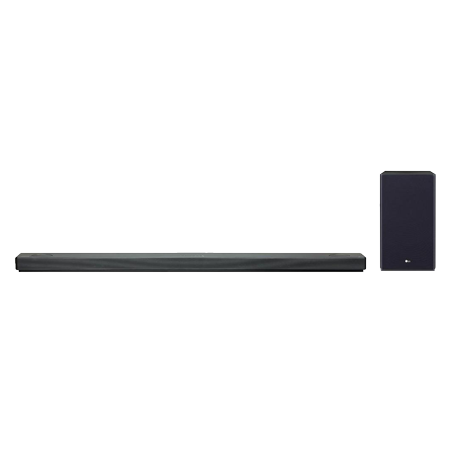 LG SL6YDGBRLLK, Flat 3.1Ch Soundbar + Subwoofer with DTS Virtual X