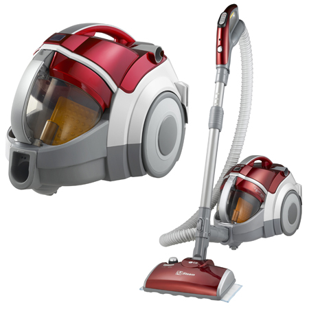 LG VK9820SCAY, Compressor Plus Bagless Vacuum Cleaner With Dirt Compressor,  Steam Nozzle U0026 Sani Punch
