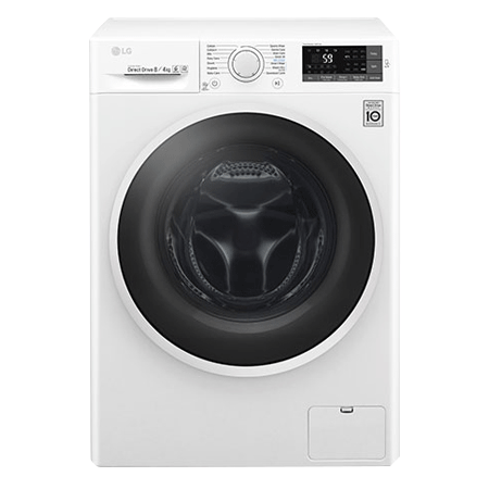 LG W5J6AM0WW, 8kg Washer / 4kg Condensor Dryer with multiple Wash Programs and Smart ThinQ connectivity