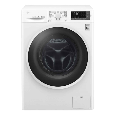 LG W5J6VN0WW, 9kg 1400rpm Smart Washing Machine White
