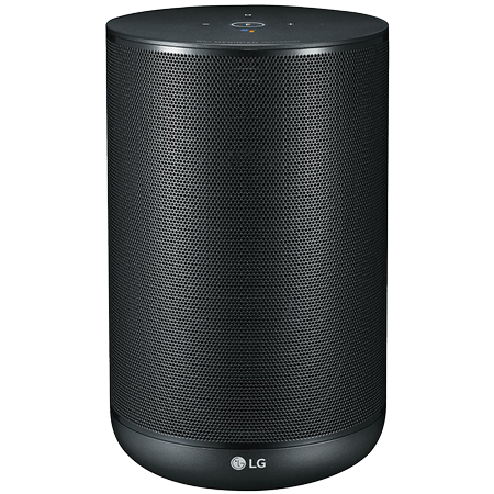 LG WK7, ThinQ Smart Bluetooth Speaker with Built-In Google Assistant