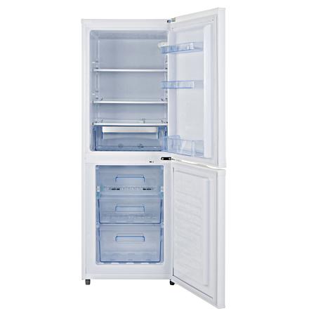 Lec Tf55153w Freestanding Frost Free Fridge Freezer With