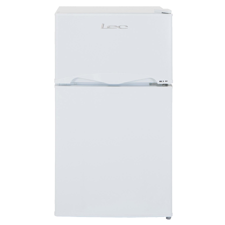 Lec T50084W, Under Counter Fridge Freezer White