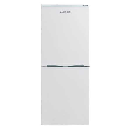 Lec T5039, Freestanding Fridge Freezer in White