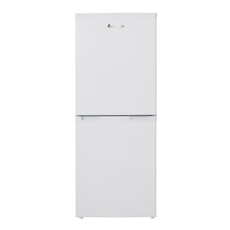 Lec TF55142W, Freestanding Fridge Freezer in White