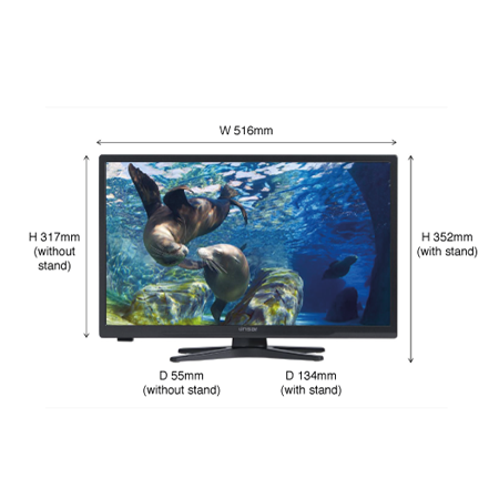 Linsar 22led3000 22 Inch Smart Full Hd Led Tv With Dvd