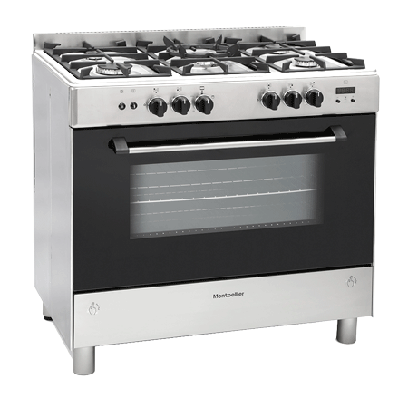 Montpellier MR91GOX, 90cm Gas Range Cooker A Rated Energy rating