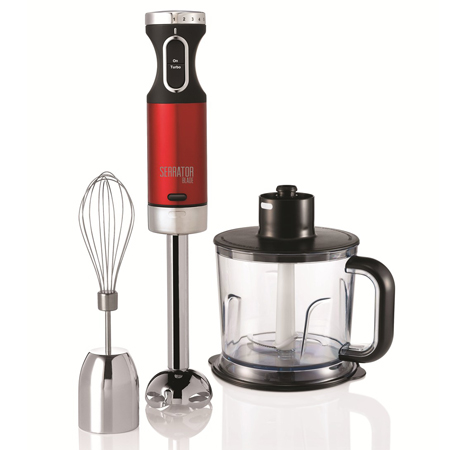Morphy Richards 402010, Hand Blender Set with Serrator Blade