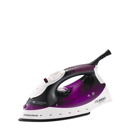 Morphy Richards 40699-Iron, Turbo Steam Iron with Tip Technology