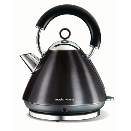 Morphy Richards 43776-Kettle, Accents Traditional Kettle Black