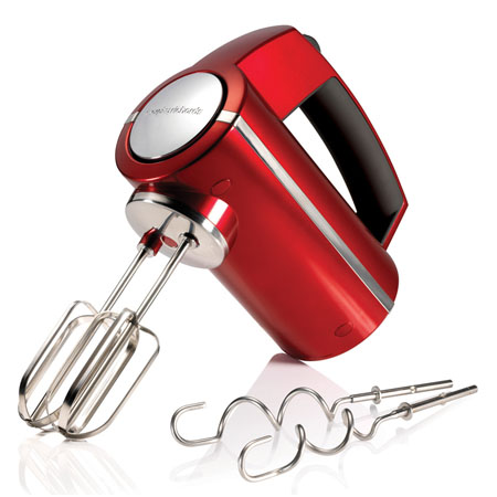 Morphy Richards 48989-Hand Mixer, Accents Hand Mixer set Red
