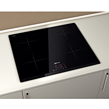 neff t41b30x2 4 zone built in induction hob with touch. Black Bedroom Furniture Sets. Home Design Ideas