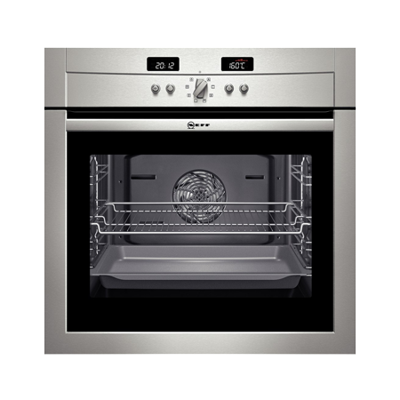 NEFF B14P42N3GB, Pyrolytic Multifunction Single Fan Assisted Oven Stainless steel