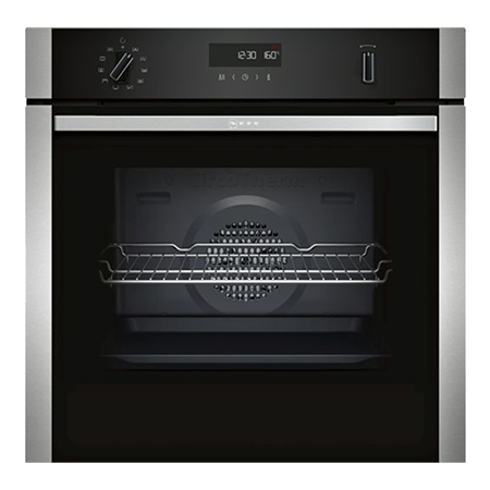 NEFF B2ACH7HN0B, Built In Electric Single Oven - Stainless Steel - A Rated