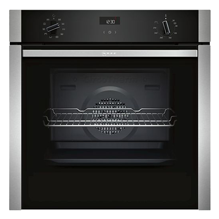 NEFF B3ACE4HN0B, Electric Slide and Hide Built-In Single Oven, Stainless Steel