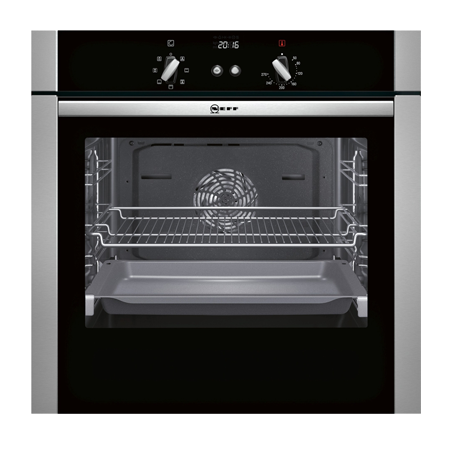 NEFF B44S53N5GB, Single Built In Electric Oven - Stainless steel
