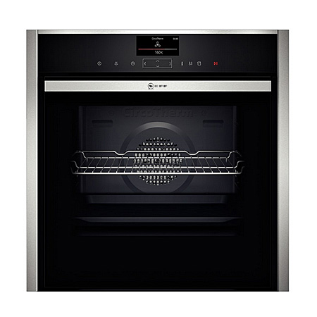 NEFF B47VS34N0B, Fan Assisted Multifunction Electric Oven Stainless Steel