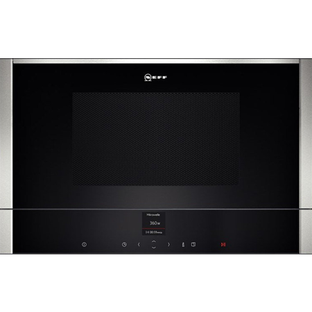 NEFF C17WR01N0B, Built-In 900W Microwave Oven Stainless Steel