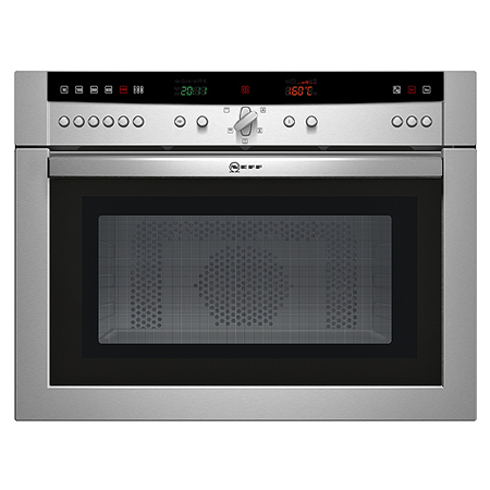 NEFF C57M70N0GB, Series 3 Stainless Steel Builtin Microwave Combination Oven.Ex-Display