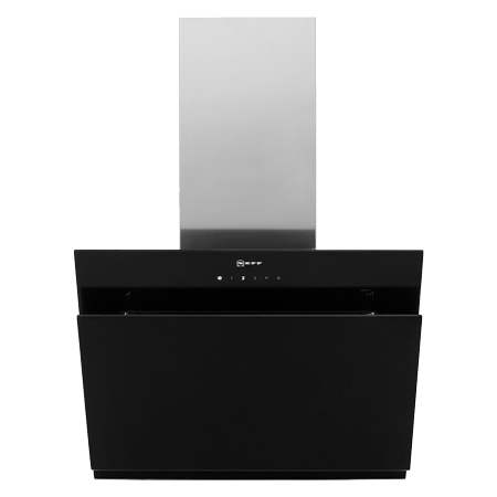 NEFF D65IHM1S0B, 60cm Chimney Hood with Touch Controls
