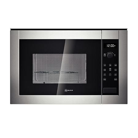 NEFF H12GE60N0G, Built-In 900W Microwave Grill Stainless Steel