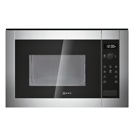 NEFF H12WE60N0G, Built-In 900W Microwave Oven Stainless Steel.Ex-Display Model