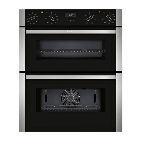 NEFF J1ACE4HN0B, Built Under Double Oven - Stainless Steel - A/B Rated