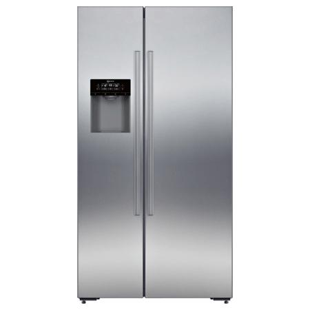 NEFF KA3923I20G, US Style Side by Side Fridge Freezer with Internal water filter.